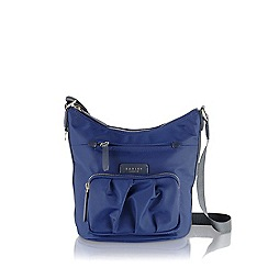 Radley - Navy Primrose Street medium cross body bag