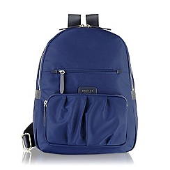 Radley - Navy Primrose Street large backpack