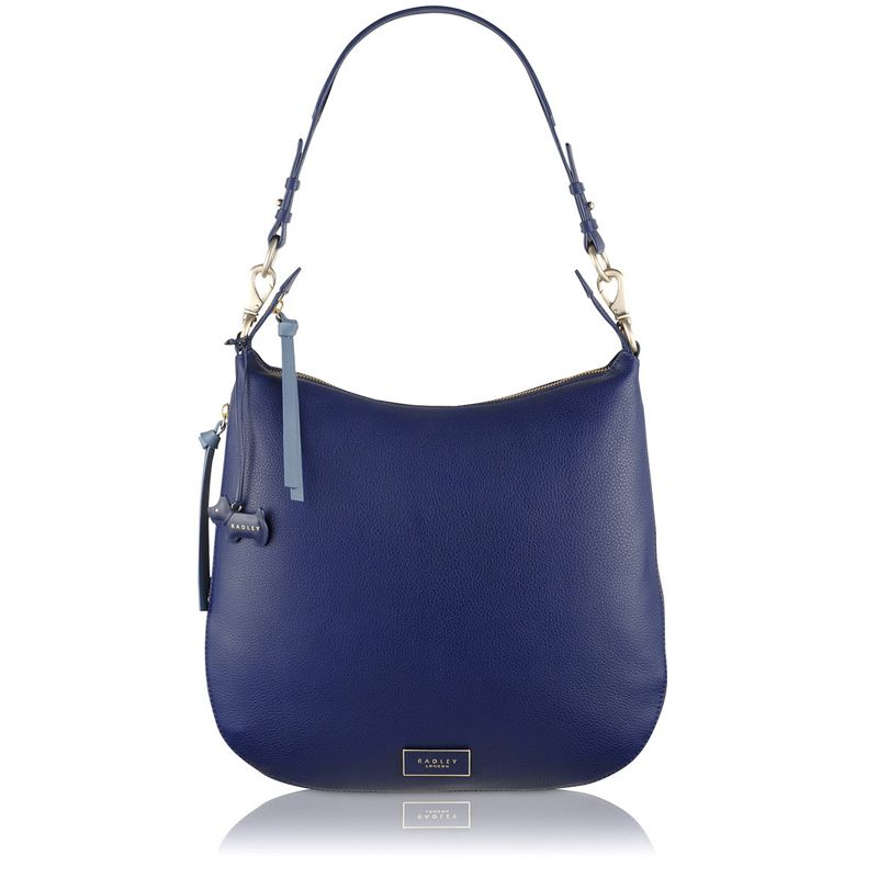Radley Navy (Blue) Pudding Lane Large Hobo Bag, Womens
