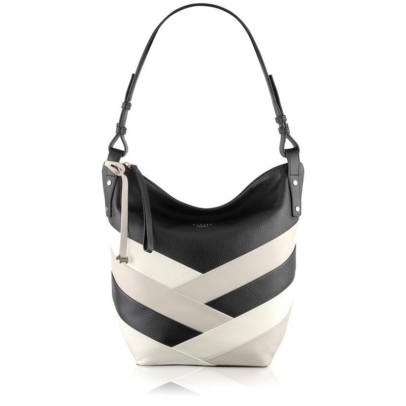Radley Black Singer Street Large Hobo Bag, Womens