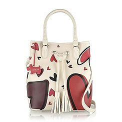 Radley - Ivory Southern row love lane large drawstring multiway bag