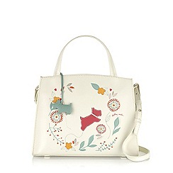 Radley - Ivory Springtime medium multiway bag