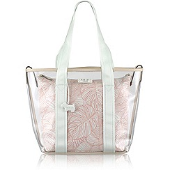 Radley - Blue Wild Palms large multiway bag