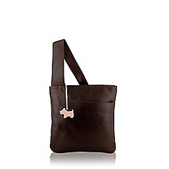 Radley - Brown small zip top cross body bag