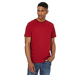 Maine New England - Big and tall red crew t-shirt
