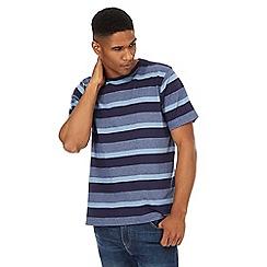 Maine New England - Blue striped t-shirt