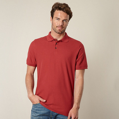 Maine New England - Terracotta essential polo shirt
