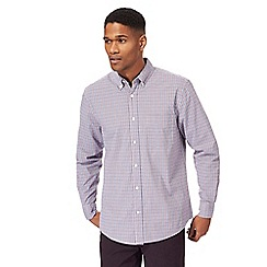 Maine New England - Big and tall blue and red checked shirt