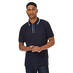 Maine New England - Navy tipped polo shirt