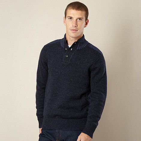 Maine New England - Dark blue knitted jumper