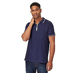 Maine New England - Navy tailored fit polo shirt