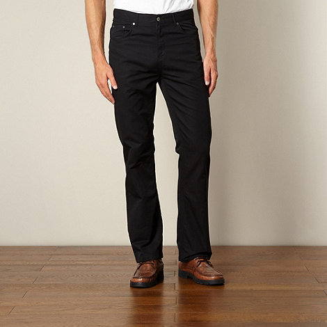 Maine New England - Dark grey casual trousers