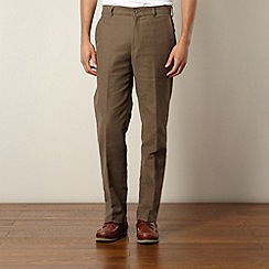 Maine New England - Taupe moleskin trousers