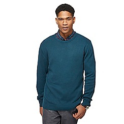 Maine New England - Green crew neck jumper