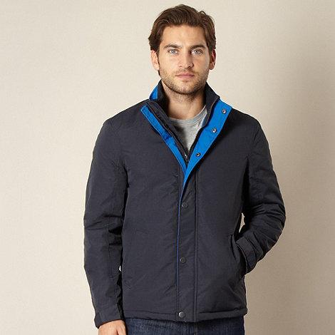 Maine New England - Navy shower resistant harrington jacket