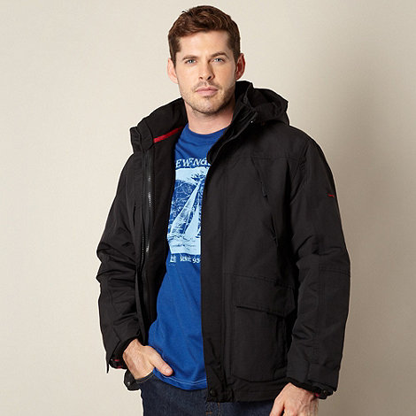 Maine New England - Black 3-in-1 waterproof jacket