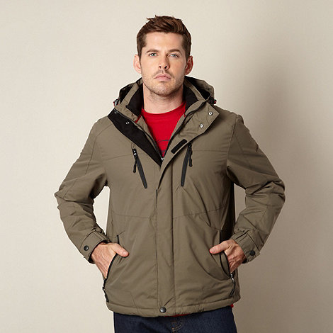 Maine New England - Olive shower resistant jacket