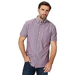 Maine New England - Big and tall purple striped shirt
