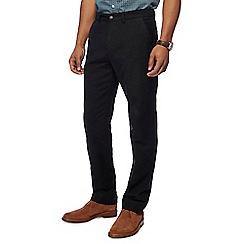 Maine New England - Black moleskin trousers