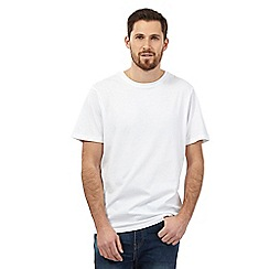 Maine New England - Big and tall white crew neck t-shirt