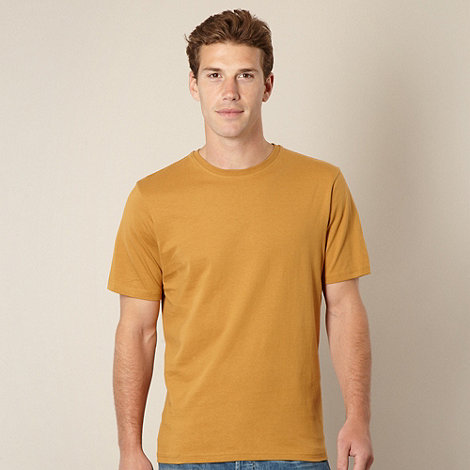 Maine New England - Mustard essential crew neck t-shirt