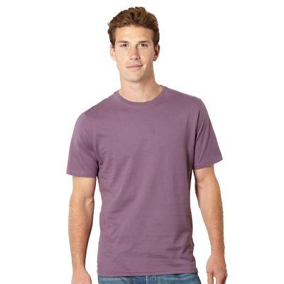 Big and tall mauve essential crew neck t-shirt