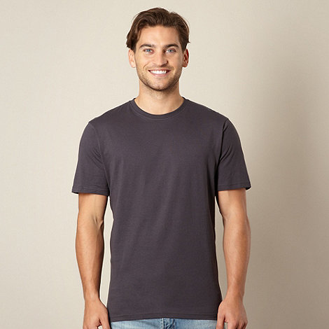 Maine New England - Dark grey crew neck t-shirt
