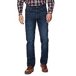 Maine New England - Blue dark wash straight leg jeans