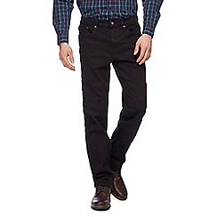 Maine New England - Big and tall black straight leg jeans