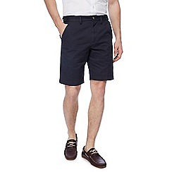 Maine New England - Big and tall dark navy chino shorts