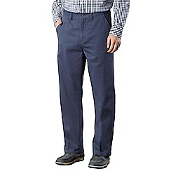 Maine New England - Big and tall mid blue classic chinos
