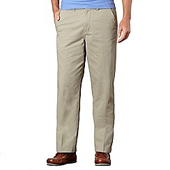 Maine New England - Big and tall light olive classic chinos