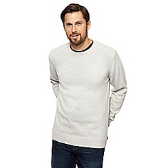 Maine New England - Natural crew neck jumper