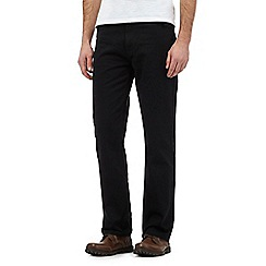 Maine New England - Dark grey textured trousers