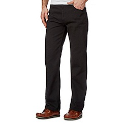 Maine New England - Dark grey heavy texture trousers