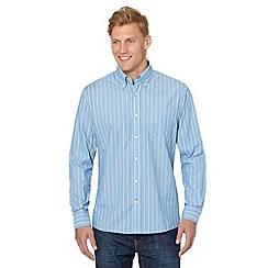 Maine New England - Blue striped shirt