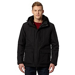 Maine New England - Big and tall performance black 3-in-1 waterproof jacket