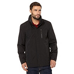 Maine New England - Performance black mesh lined waterproof jacket