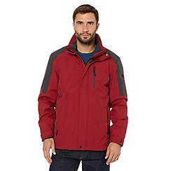 Maine New England - Performance red waterproof mesh lined jacket