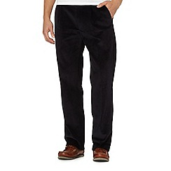 Maine New England - Navy chunky cord trousers