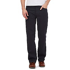 Maine New England - Big and tall navy broken bedford trousers