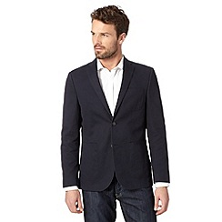 Maine New England - Navy cotton bedford blazer
