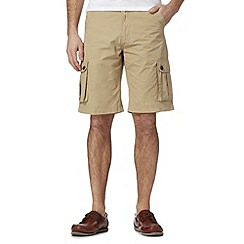 Maine New England - Big and tall beige cargo short