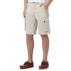 Maine New England - Big and tall natural cargo short