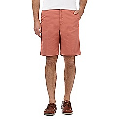 Maine New England - Big and tall peach washed chino shorts