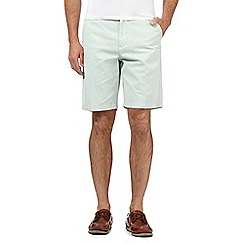 Maine New England - Big and tall pale green washed chino shorts