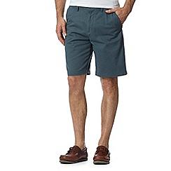 Maine New England - Dark turquoise washed chino shorts