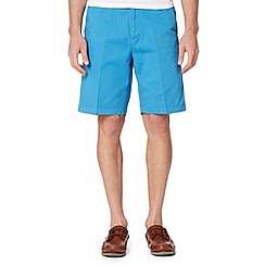 Maine New England - Turquoise washed chino shorts