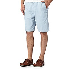 Maine New England - Light blue chino shorts