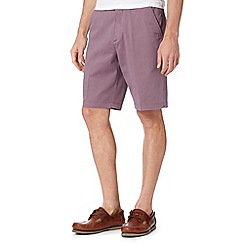 Maine New England - Mauve washed chino shorts